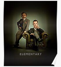 19th Century Sherlock and Watson Poster