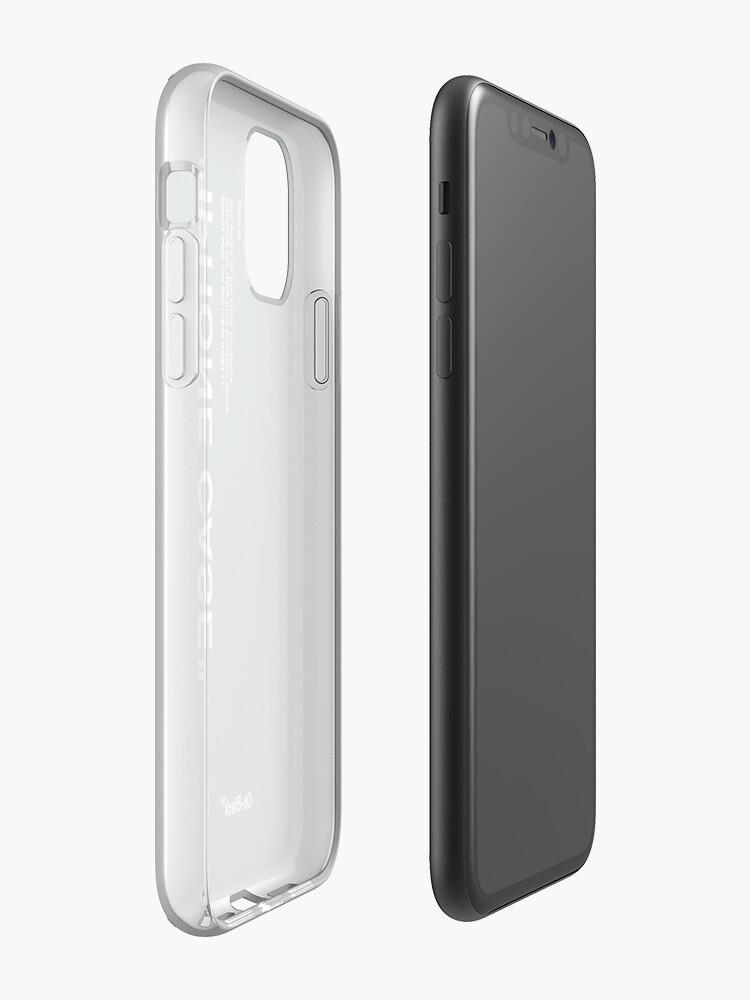 coque iphone 11 motif , Coque iPhone «Cas de concepteur. VERT FONCÉ», par Ainika
