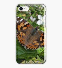 butterfly in a bubble iPhone Case/Skin