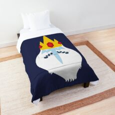 Ice King from Adventure Time Comforter
