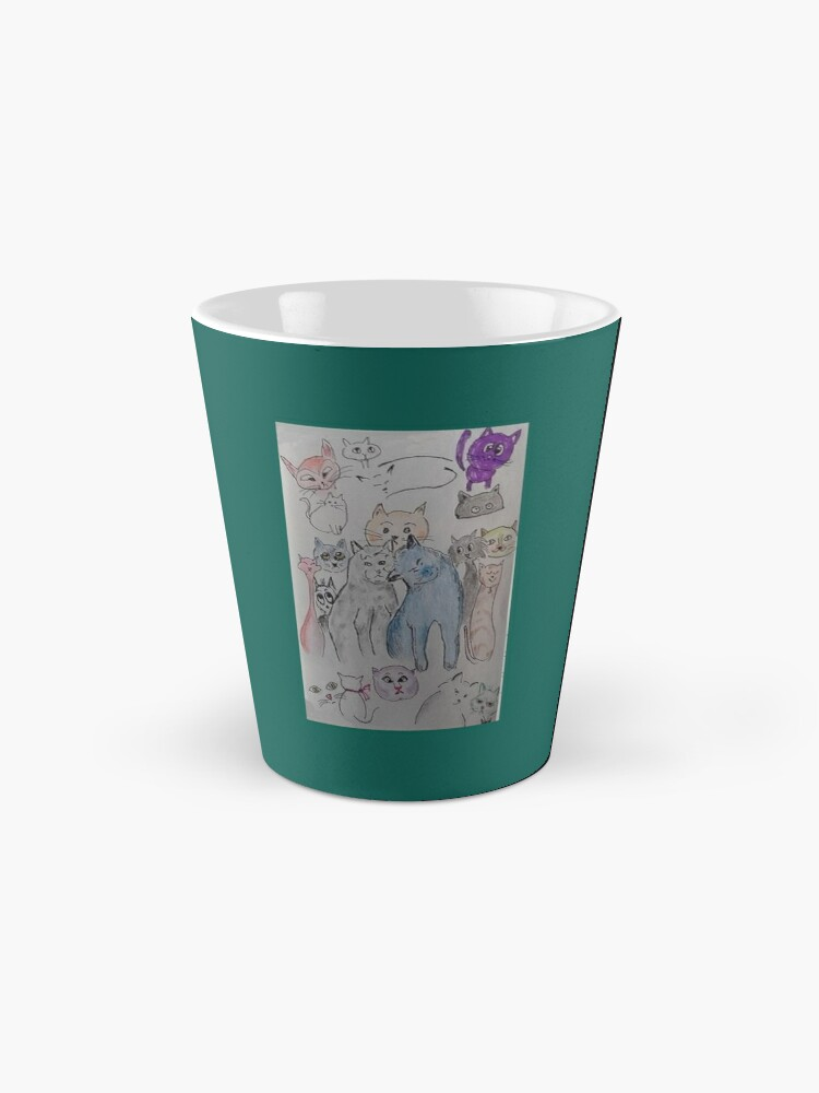 Alternate view of Cat tribe Mug