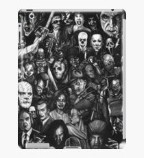 Horror Collage iPad Case/Skin