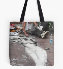 (。◕‿◕。) Prague Street Artist (。◕‿◕。)  Tote Bag