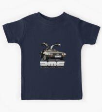 DeLorean Tee Shirt Kids Tee