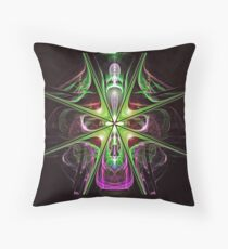The Cross Over Throw Pillow