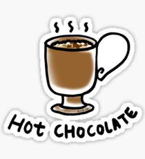 Hot chocolate drink Sticker