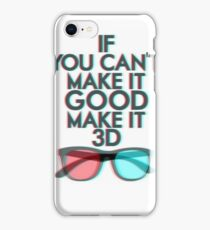 Glasses 3D Iphone Case iPhone Case/Skin