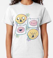 Camiseta clásica Finn y Jake (Hora de aventura)