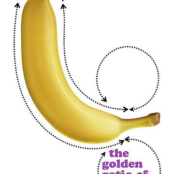 The Golden Ratio of Banana by JeanLender