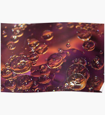 Oil Bubbles Poster