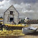 """Dark Skies Over Pembroke"" by Frank Boudreau"