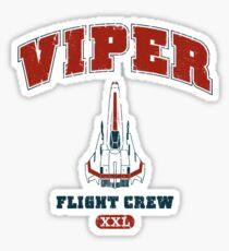 Viper Flight Crew Sticker