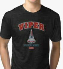 Viper Flight Crew - Dark Tri-blend T-Shirt