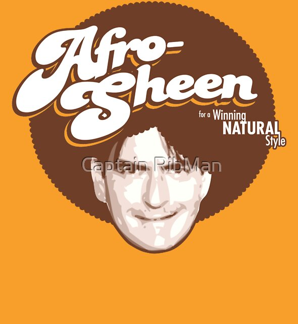 Afro-Sheen - for a Winning, Natural Style! by Captain RibMan