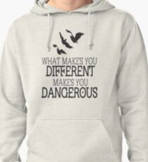 Divergent different quote Pullover Hoodie