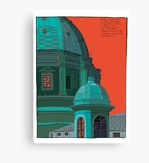 St Peters red and green Canvas Print