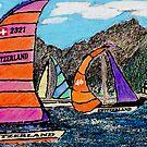 Swiss Sail by Monica Engeler