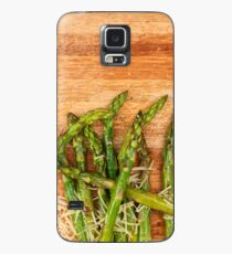Grilled asparagus and parmesan cheese. Case/Skin for Samsung Galaxy