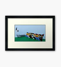 The Pirates of Penzance? Framed Print