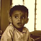 Indian Child by Akash Puthraya