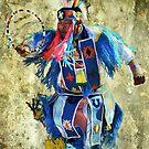 Native American Dancer by Barbara Manis