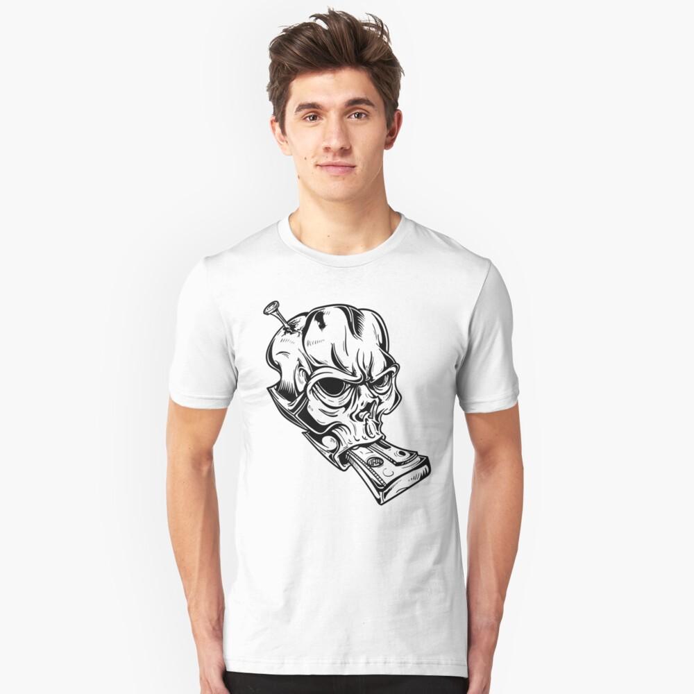 Teskull Unisex T-Shirt Front