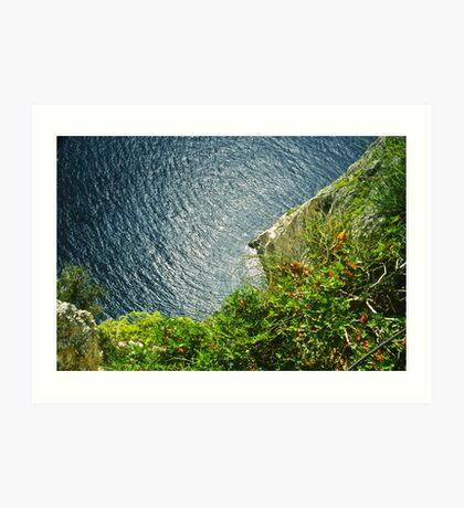 Cape Keri . Zakynthos . Greece. Hurts - Wonderful    Life  .Fujichrome Velvia 50 Slide Film by Brown Sugar .  . Favorites: 2 Views: 583 .Thank you !!!! Art Print
