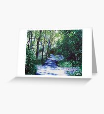 'There Be Light Around the Bend' Greeting Card