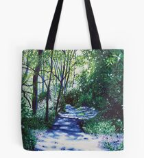 'There Be Light Around the Bend' Tote Bag
