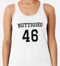 Buttigieg #46 (for lighter color shirts) Racerback Tank Top