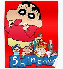 shin chan posters redbubble