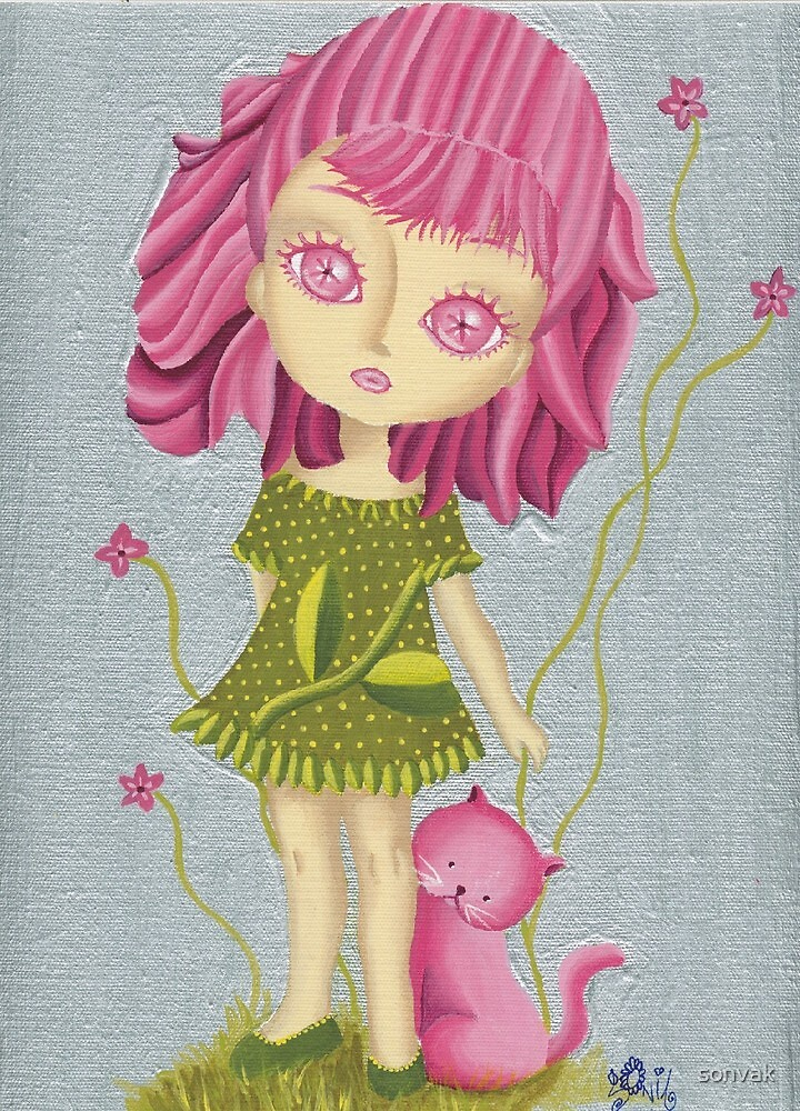 Pink doll by sonvak