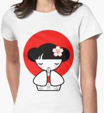 Pray for Japan Kokeshi Doll T-Shirt