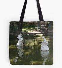 Poetic and expressive conversation. Tote Bag