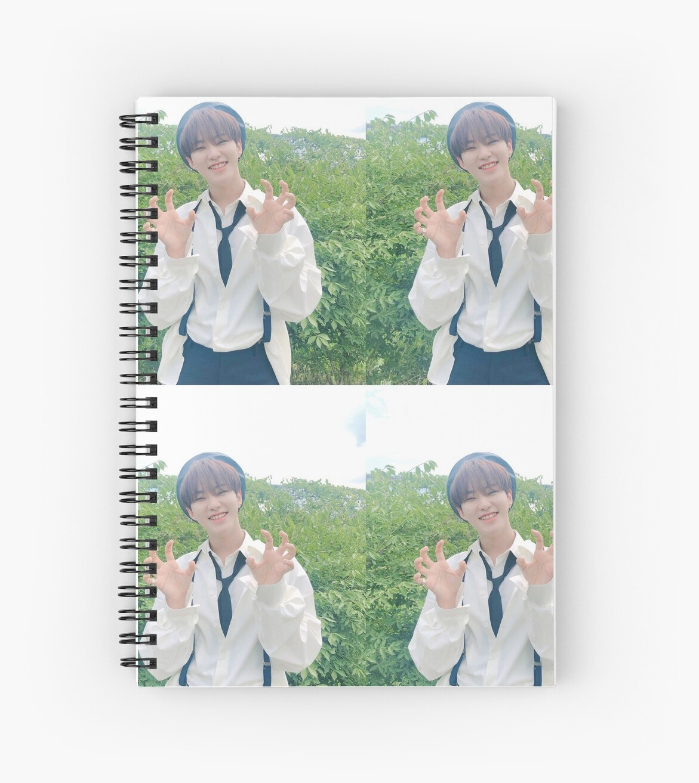 Svt Hoshi Spiral Notebook By Ultshoshi Redbubble