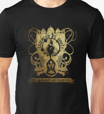 Tawheed Is Unity Family Crest Unisex T-Shirt