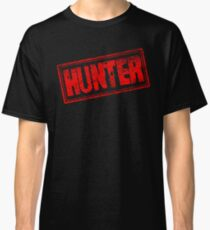 Hunter (Vintage Retro Stamp) Classic T-Shirt