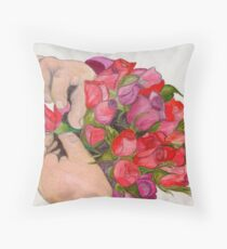 She's a Picture Perfect Child Throw Pillow