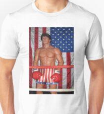 Sylvester Stallone As Rocky Balboa-PILLOW,TOTE BAG,TEE SHIRT,SCARF,BOOKS ,ECT.. Unisex T-Shirt