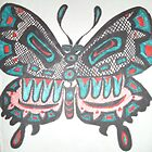 Northwest Native Influence on Butterfly by Jennifer Ingram