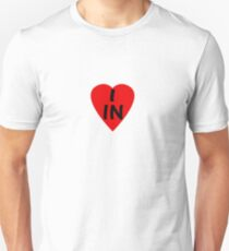 I Love Country Code IN-India T-Shirt & Sticker Unisex T-Shirt