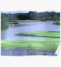 Twin Bridges Golf Course Poster