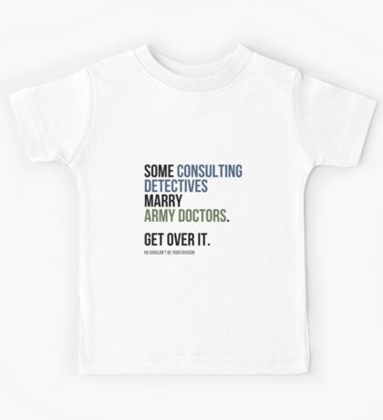 Some Consulting Detectives... Kids Clothes
