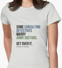 Some Consulting Detectives... Womens Fitted T-Shirt
