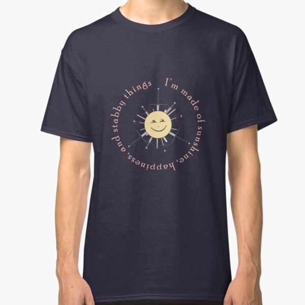 Shiny stabby happiness Classic T-Shirt