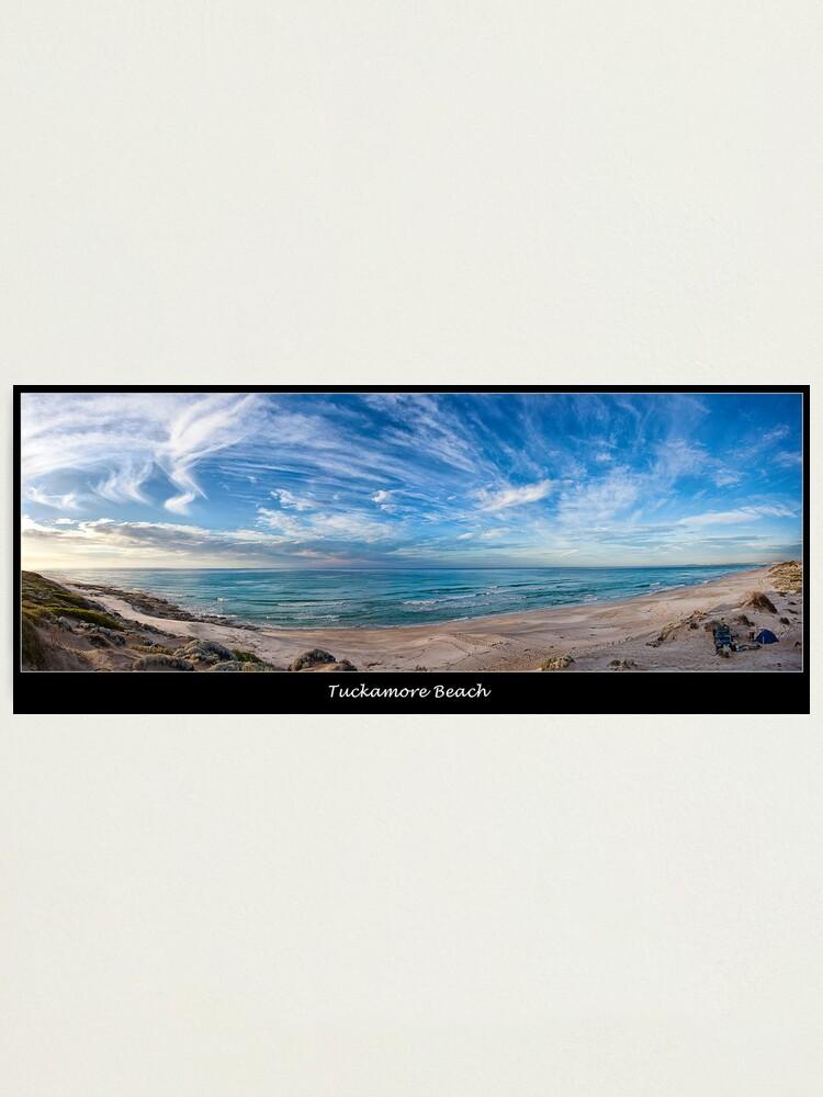 Alternate view of Tuckamore Beach. Photographic Print