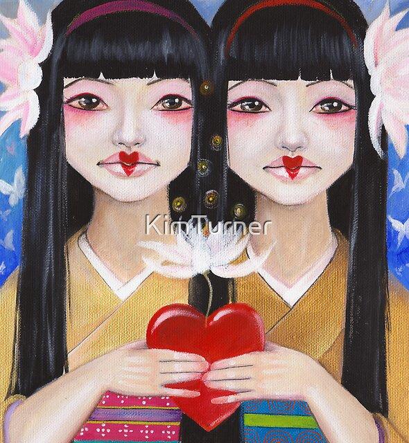 Ren Cho and Shinobu by KimTurner