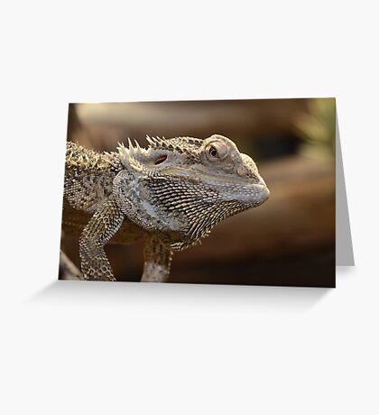 'The Lizard of OZ' Greeting Card