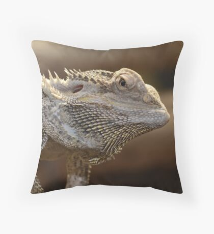 'The Lizard of OZ' Throw Pillow