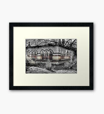 The Mausoleum Framed Print